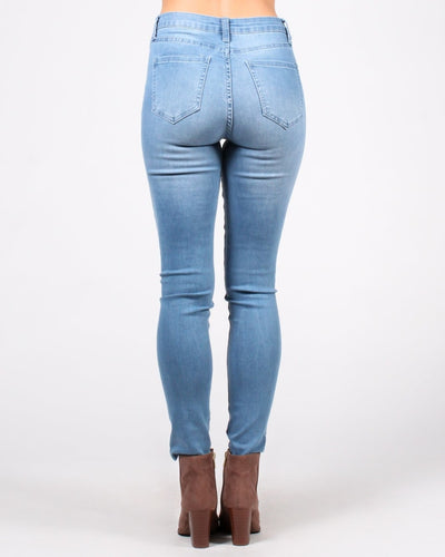 Wont Change Your Mind High Rise Skinny Jean