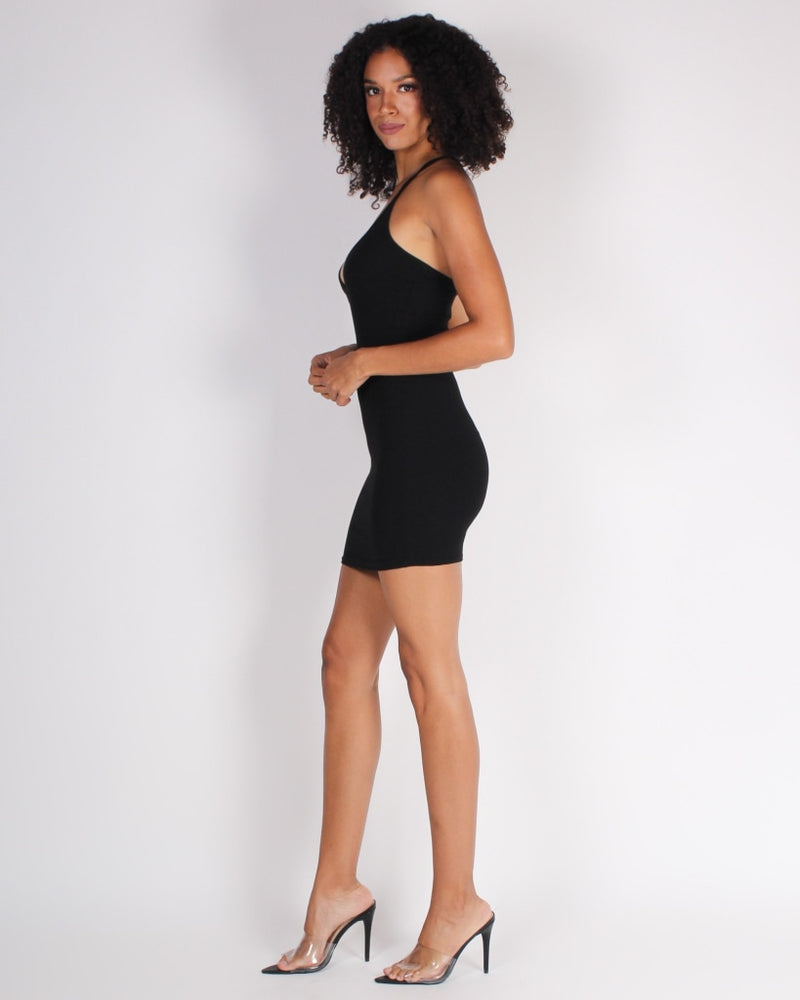 Your Future Self Will Thank You Bodycon Dress (Black) Black / S Dresses