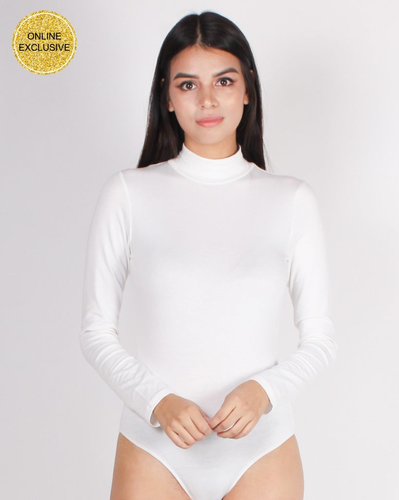 Your Light Never Goes Out Bodysuit (White) White / S