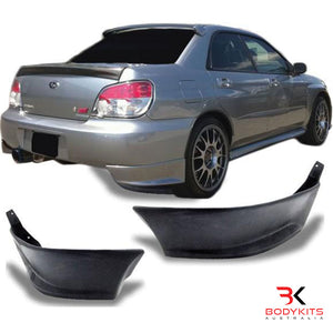 REAR SIDE PODS SUBARU IMPREZA MK2 WRX STI (2002-2007)