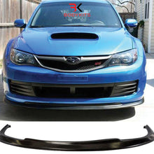 FRONT LIP V.1 CHARGE SPEED STYLE SUBARU IMPREZA MK3 WRX STI HATCH BACK (2008-2010)
