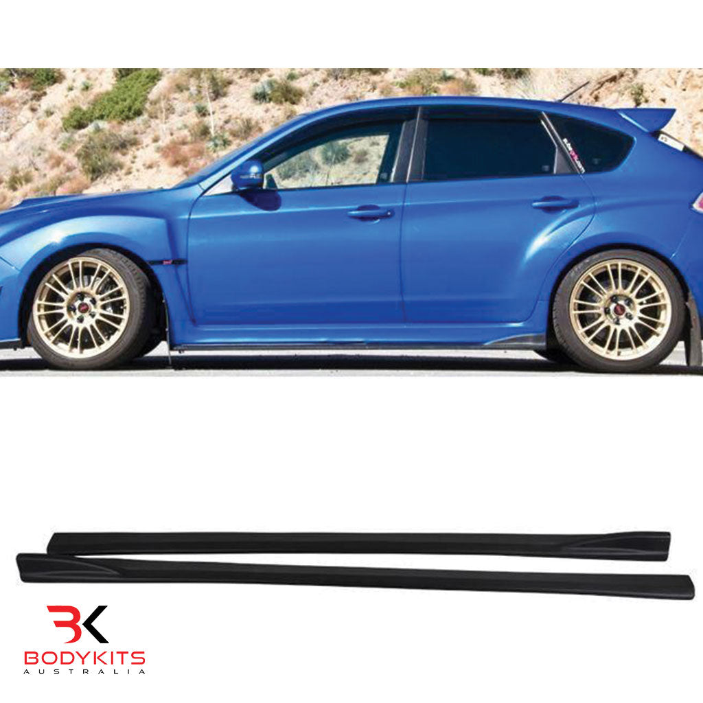 SIDE SKIRTS SUBARU IMPREZA MK3 WRX STI HATCH BACK (2008-2010)