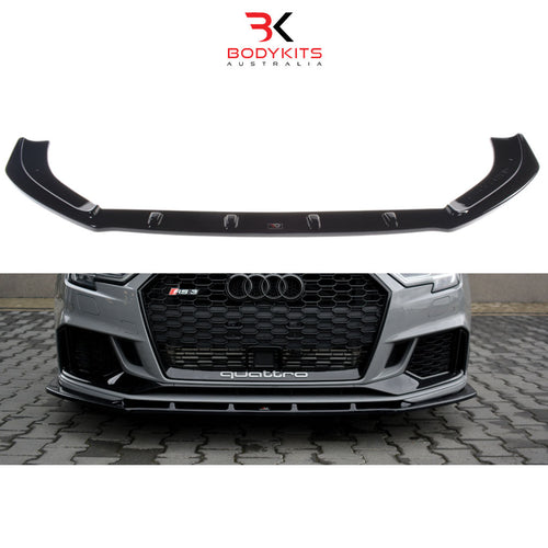 FRONT SPLITTER V.1 AUDI RS3 8V FACELIFT SEDAN (2017-2019)