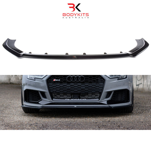 FRONT SPLITTER V.2 AUDI RS3 8V FACELIFT SEDAN (2017+)