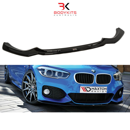 FRONT SPLITTER V.1 BMW 1 F20/F21 M-POWER FACELIFT (2015-2019)