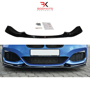 FRONT SPLITTER V.3 BMW 1 F20/F21 M-POWER FACELIFT (2015-2019)