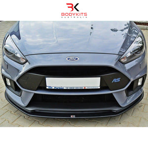 FRONT SPLITTER V.3 FORD FOCUS MK 3 RS (2015-2019)