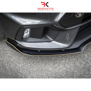 'AERO' FRONT SPLITTER FORD FOCUS MK 3 RS (2015-2019)