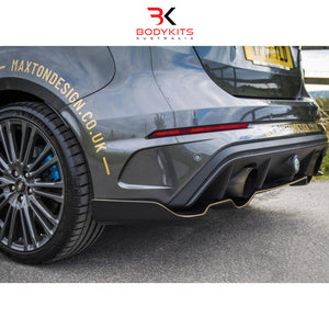 'AERO' REAR SPLITTER FORD FOCUS MK 3 RS (2015-2019)