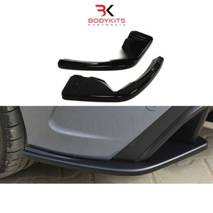 REAR SIDE SPLITTERS FORD FOCUS MK 3 RS (2015-2019)