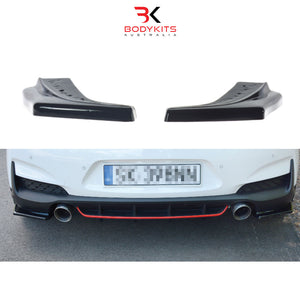 REAR SIDE SPLITTER HYUNDAI i30 MK3 N HATCHBACK (2017-2019)