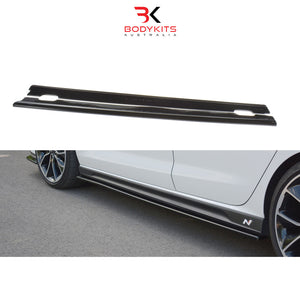 SIDE SKIRTS HYUNDAI i30 MK3 N HATCHBACK (2017-2019)