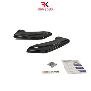 REAR SIDE SPLITTERS MAZDA 3 MPS BL MK2 (2009-2012)