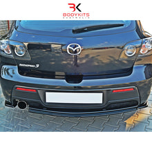 CENTRAL REAR SPLITTER MAZDA 3 MPS BK MK1 PRE-FACELIFT (2006-2008)