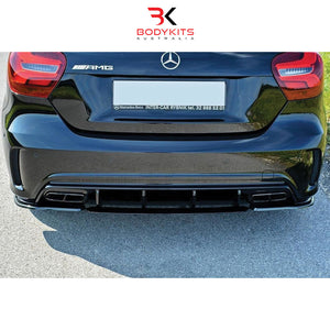 REAR SIDE SPLIITER MERCEDES A45 W176 AMG FACELIFT (2016-2018)