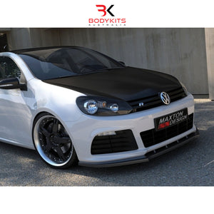FRONT SPLITTER V.1 VW GOLF MK6 R (2008-2012)