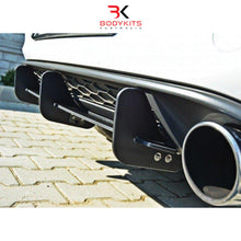 REAR DIFFUSER AND REAR SIDE SPLITTERS VW GOLF MK7 GTI PRE-FACELIFT (2012-2017)