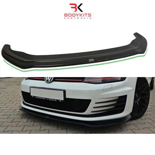FRONT SPLITTER V.2 VW GOLF MK7 GTI PRE-FACELIFT (2012-2017)