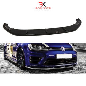 FRONT SPLITTER V.1 VW GOLF MK7 R PRE-FACELIFT (2013-2017)
