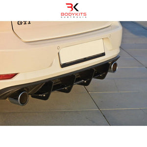 REAR DIFFUSER V.1 VW GOLF MK7.5 GTI FACELIFT (2017+)