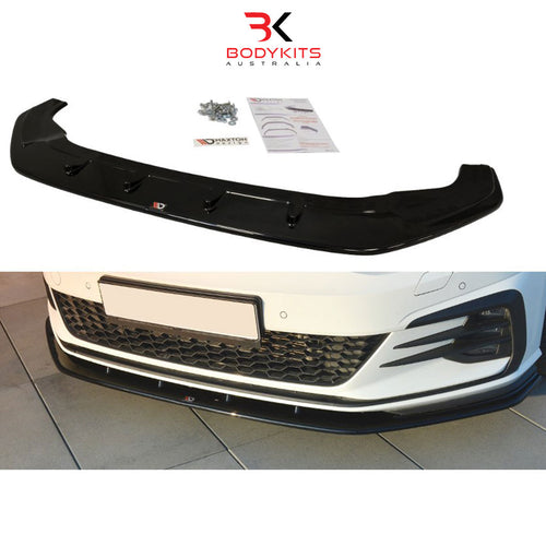 FRONT SPLITTER V.1 VW GOLF MK7.5 GTI FACELIFT (2017+)