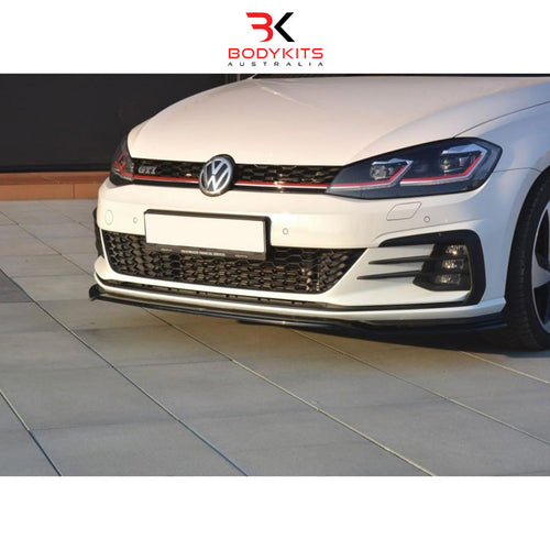 FRONT SPLITTER V.2 VW GOLF MK7.5 GTI FACELIFT (2017+)