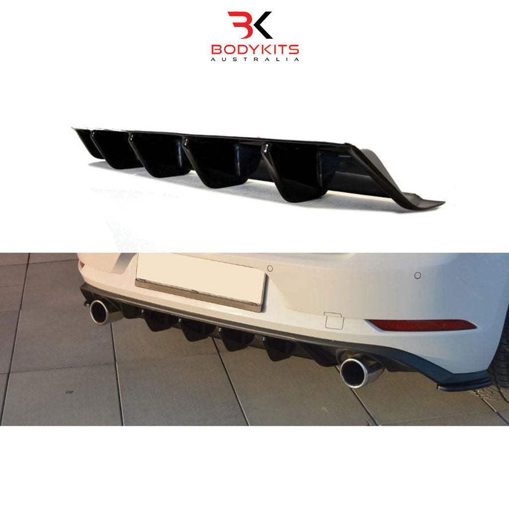 REAR DIFFUSER V.2 VW GOLF MK7.5 GTI FACELIFT (2017+)