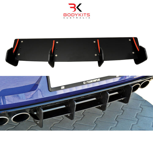REAR DIFFUSER VW GOLF MK7.5 R FACELIFT (2017+)