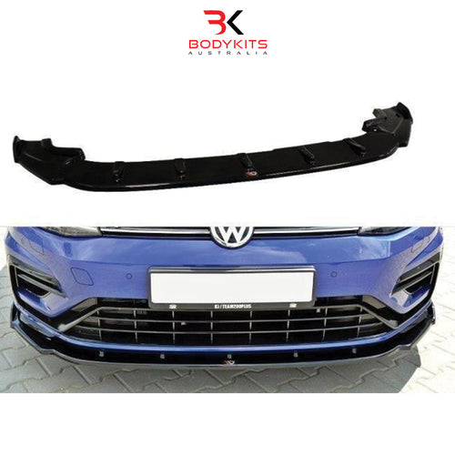 FRONT SPLITTER V.1 VW GOLF MK7.5 R FACELIFT (2017+)