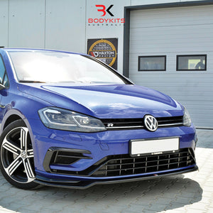FRONT SPLITTER V.3 VW GOLF MK7.5 R FACELIFT (2017+)