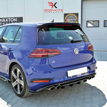 REAR CENTRAL SPLITTERS VW GOLF MK7.5 R FACELIFT (2017+)