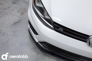 FRONT SPLITTER V.3 VW GOLF Mk7 R PRE-FACELIFT (2012-2017)