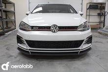 FRONT SPLITTER V.4 VW GOLF MK7.5 GTI FACELIFT (2017+)