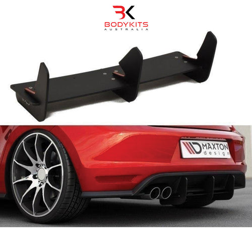 REAR DIFFUSER VW POLO MK5 GTI FACELIFT (2015-2017)
