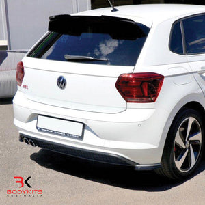 REAR SIDE SPLITTERS VW POLO MK6 GTI (2017-2019)