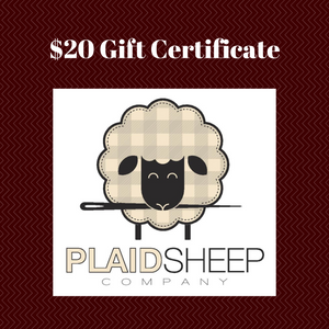 Gift Certificates: $20