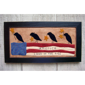 Patriotic Crow Parade