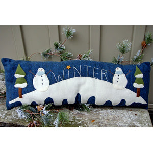 Frosty Winter Pillow