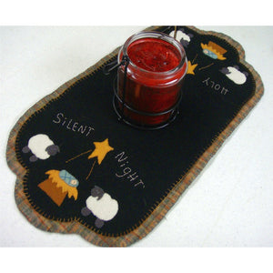 Sheep & Manger Table Runner