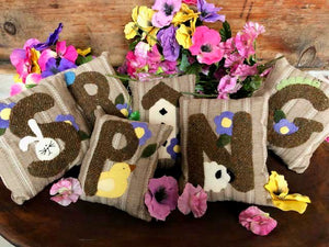 Little Spring Pillows