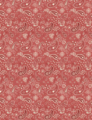 Homemade Happiness: Paisley Red