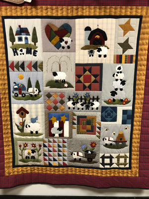Sheep Thrills - Sheep Block of the Month
