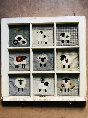 Window Treatments #1 (Sheep)
