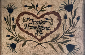 Homestead Fraktur Rug