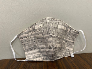 Mask: Music Notes