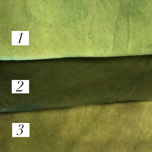 Green Hand-Dyed Wool #1-3