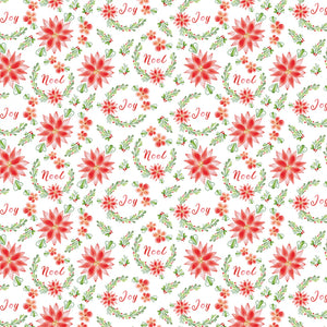 Merry & Bright Poinsettia # 2611C-01