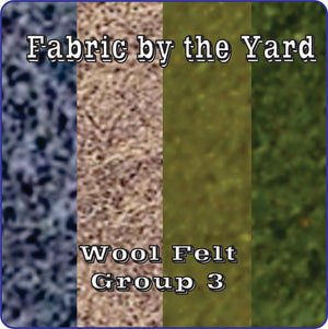 Wool Felt - Group 3