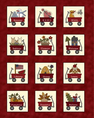 Red Wagon: Calendar Panel