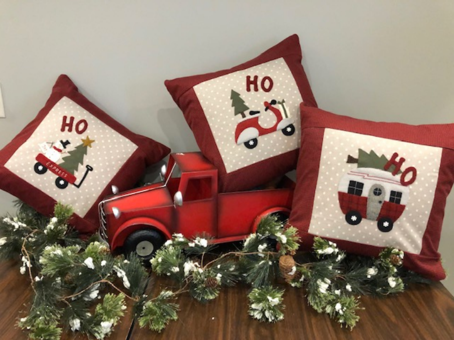 Ho Ho Ho Pillows